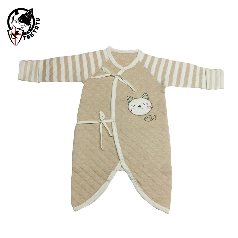 Newborn bodysuit 100% cotton spring and autumn baby clothes butterfly clothing monk clothing 3 - 6 months old baby clothes old monk в москве