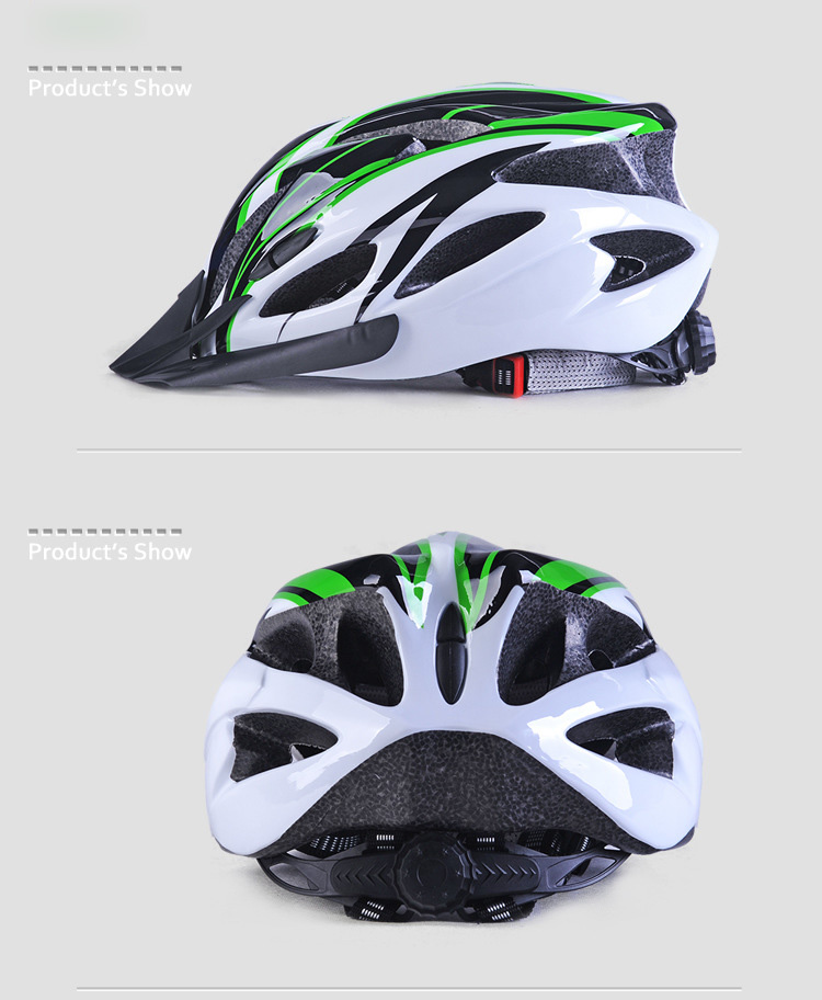 220g Ultralight Bicycle Helmet CE Certification Cycling Helmet In-mold Bike Safety Helmet Casco Ciclismo 56-62 CM-9