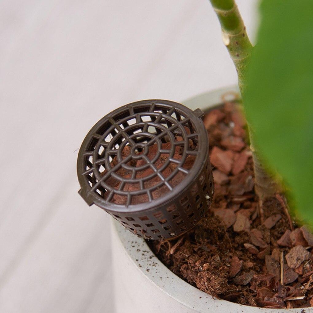 10pcs/set Fertilizer Nursery Lid Bonsai Planting Tool Gardening Supplies Garden Nursery Basket Automatic Fertilizer Pot Box