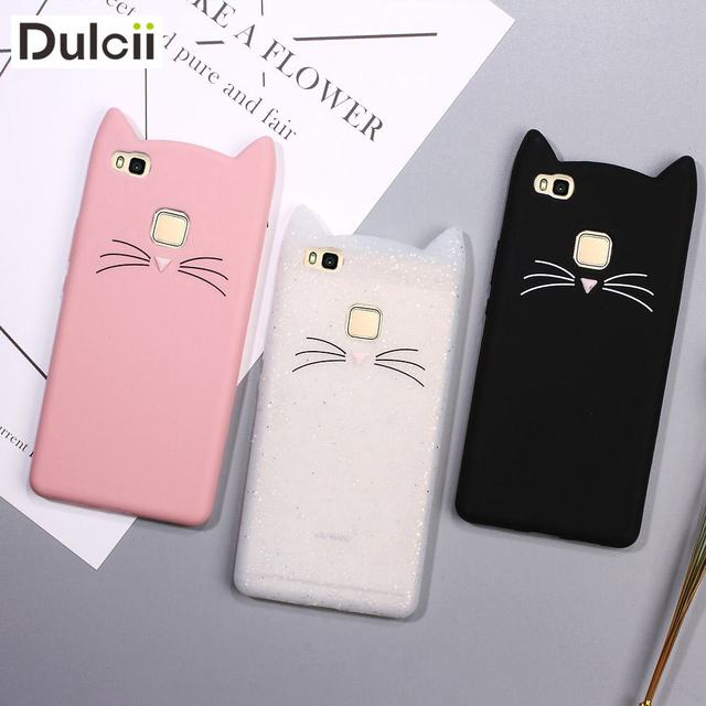 coque chat silicone huawei p10 lite