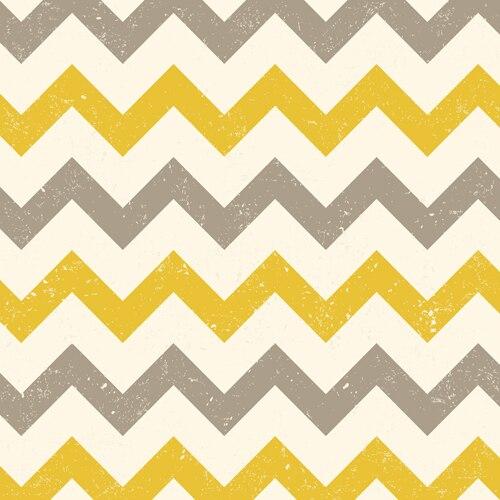 Huayi Art Fabric Cloth Photography Backdrop Yellow Grey Chevron Background For Studio Wavy Lines Photo D 8211