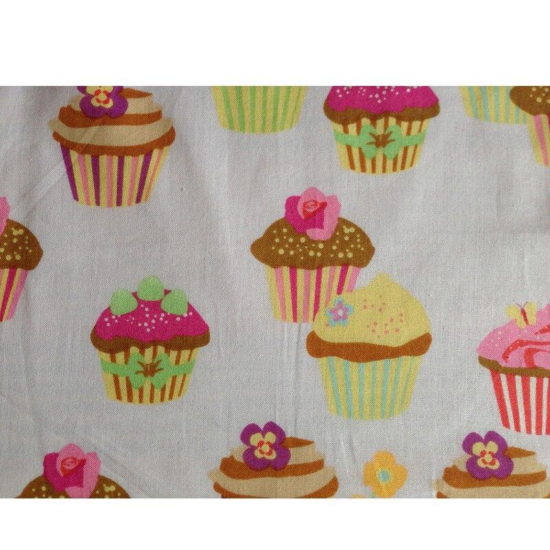 Retro Kitchen Apron Woman Flirty White Apron Frosted Cupcake Striped Polka Dot Ruffled Salon Avental de Cozinha Divertido