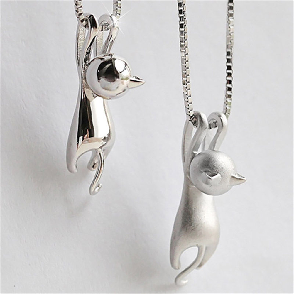 Cute Fashion Sweet Kitty Pendant animal collares Without ...