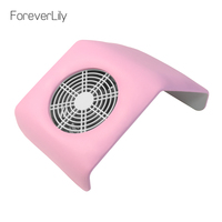 foreverlily 30W Portable Nail Dust Collector Nail Dust Suction Vacuum Cleaner Manicure Machine With 2 Bags With 1 Nail Dust Fan