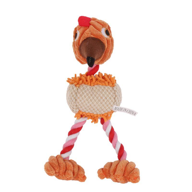 Lindo 28*6 cm Productos de la Forma del Pájaro de Peluche Mascota Perro de Jugue
