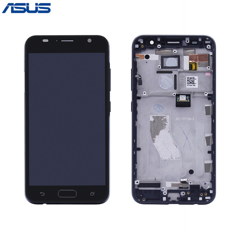 Asus V520KL Original Screen Black LCD Display Touch screen digitizer Assembly with Frame For Asus Zenfone