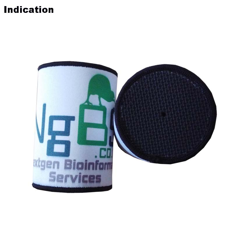 100pcs/lot Stubby Holder Customized Your LOGO Neoprene Beer Can Coolers Thermal Cool Bag For Wedding Gifts Party Camp