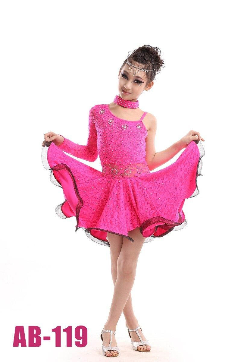 discount later arrives US $23.74 5% OFF Green/Yellow/Rose Diamond Wedding Dress Girl Dresses Sexy  Plus Size Latin Dance Dress Long Latin Skirt Children Latin Dancewear-in ...