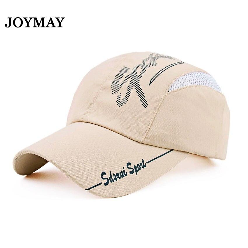 Joymay Quick-drying Casual Baseball Cap Breathable Snapback Sun-hat Fishing Hat Fashion Cap B293