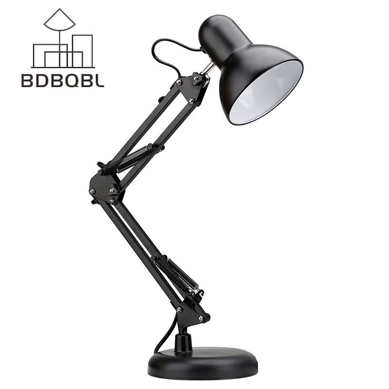 BDBQBL 360 Degree Adjustable Folding Lamp Home Decoration Sensor Desk Light Table lamps Indoor Light LED Desk Lamp Swing Arm