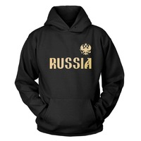Russia Kapuzenpullover Hoodies Sweatshirt