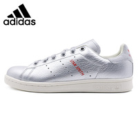 Official Original Adidas Originals Thread Low Top Flat Women's Leather Skateboarding Shoes Anti Slippery Hard Wearing Sneakers