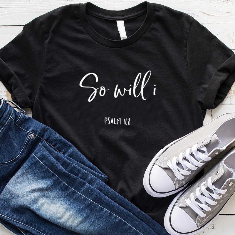 ので私は文字プリント Tシャツの女性信仰クリスチャン Tシャツストリートヒップスター Tシャツガール Tシャツトップスドロップシッピング