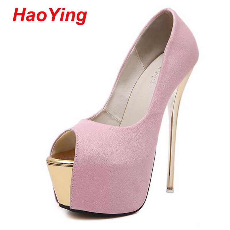 Online Shop peep toe pink heels women high heels shoes pumps women ...