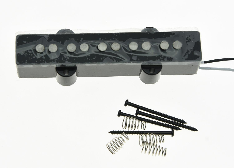 5 String Jazz Bass Alnico 5 NECK Pickup Vintage Sound J Bass Pickups Black