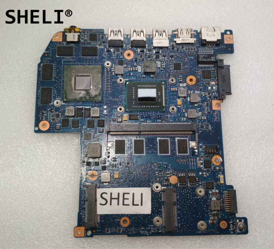 SHELI For font b Acer b font M3 581 M3 581G M3 581TG Motherboard JM50 with