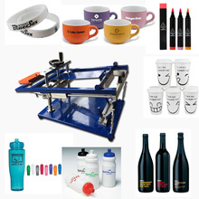 used screen printing machine for bottles/cups/mugs/pens