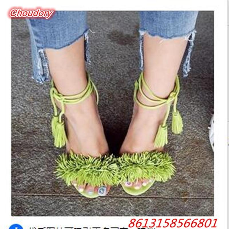European Sexy font b Women b font Sandals Open Toe High Heels Gladiator font b Shoes