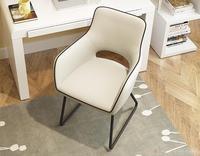 簡単椅子のコンピュータチェア用ホームオフィスチェアリアルレザー店員椅子のヨーロッパジョブソファboss防爆強化ガラスフィルムスクリーンプロテクター証拠comfortab
