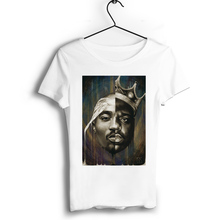 цена на Tupac Shakur Men Hip Hop T Shirts Short Casual Modal O-Neck Wholesale rap music T Shirts Jersey T-shirt Punk Style Round T-shirt