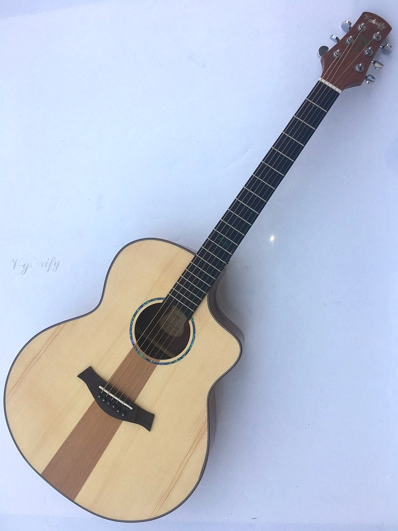 41inch good quality red cedar top acoustic electric guitar tylor body shape in guitar from. Black Bedroom Furniture Sets. Home Design Ideas