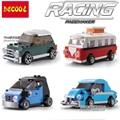 Technic City Creator mini Volkswagen Camper Van Building Blocks Bricks Model Kids Toys Marvel Compatible Lepin 21003