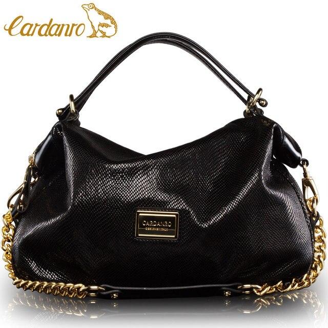 CARDANRO women s genuine leather handbag first layer of cowhide fashion  pearl dsmv handbag one shoulder women s handbag d6df2bb765673