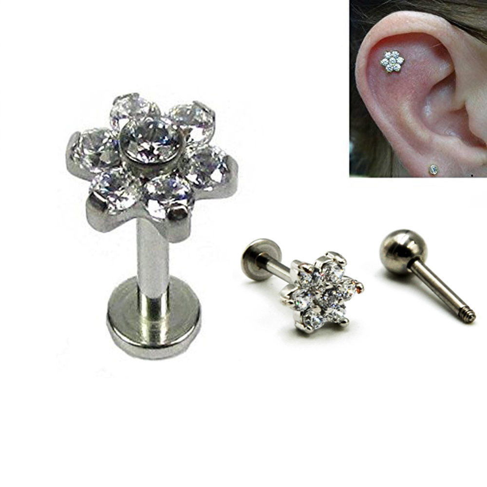 boucle d'oreille acier chirurgicale