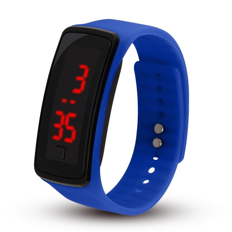 Zegarek z bransoletką LED, kreatywny ekran dotykowy, dwie generacje - Zegarki dziecięce - Zdjęcie 1