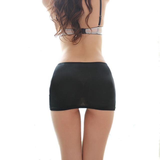 Elastic Skirt Micro Mini Booty Erotic Low Waist Clubwear