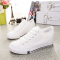 2017 clear fashion Women white shoes casual shoes women soft leather shoes flats female spring autumn canvas shoes J4A9117W