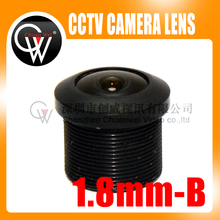 1pcs 1.8mm lens M12 CCTV Board Lens For CCTV Security Camera Free Shipping