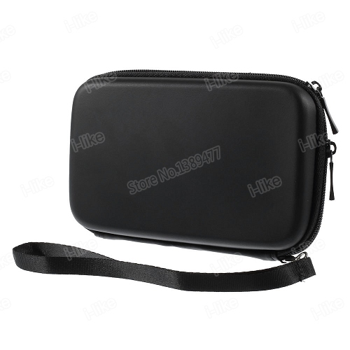 For iPhone Samsung Sony Waterproof Zipper Bag Pouch for Power Bank for Smartphones with Strap, Inner Size 15.5 x 8.7cm