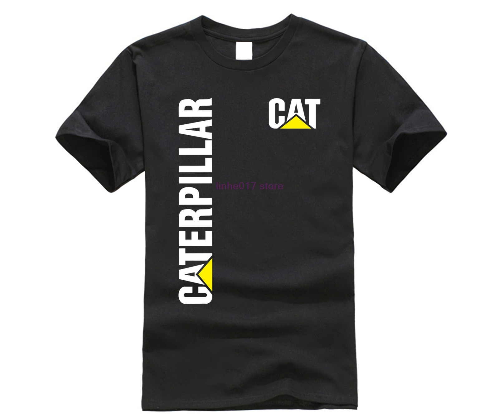 New Caterpillar CAT Men's Cotton Comfort   T  -  Shirt   all size discout hot new fashion   T     Shirt   top free shipping 2018 officia