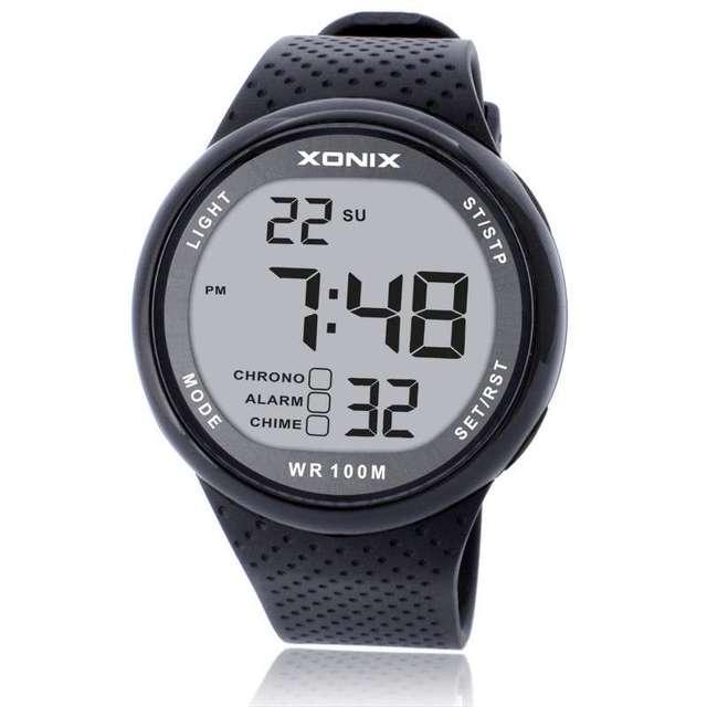Sports Watches Waterproof 100m Outdoor Fun Digital Watch Swimming Diving Wristwatch