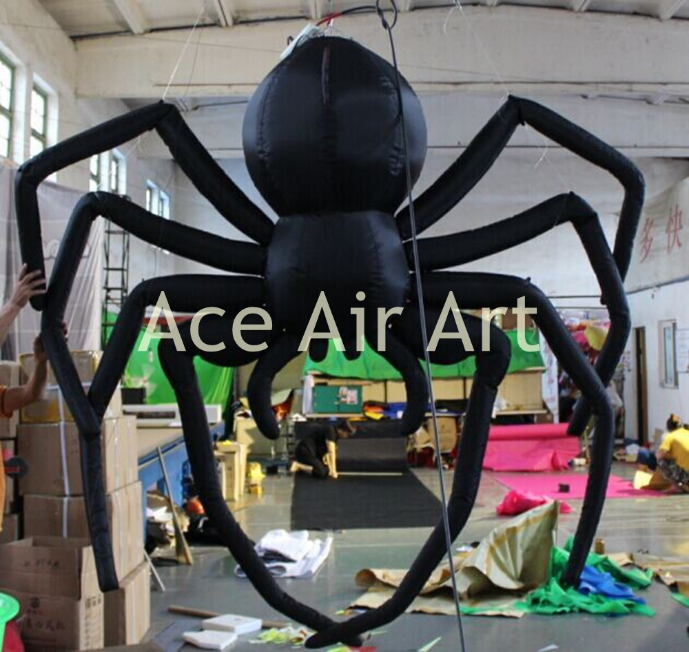 Giant Inflatable Spider Halloween Decoration