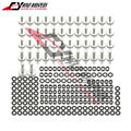 Free shipping Motorcycle Accessories Body Fairing Bolt Screw Fastener Fixation Fits For Yamaha YZF-R6 R6 1999 2000 2001 2002