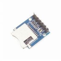 10 unids/lote/Mini tarjeta SD módulo Micro SD tarjeta módulo para arduino