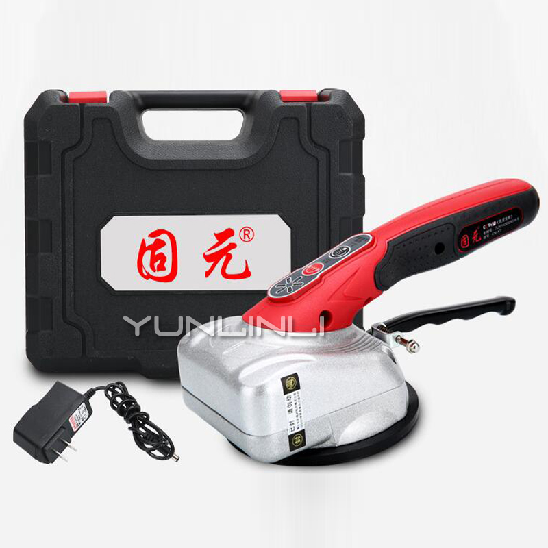 Brick Tiling Machine Portable Lithium Ceramic Tile Floor Wall Vibration Machine Automatic Floor Vibrator CN-K7
