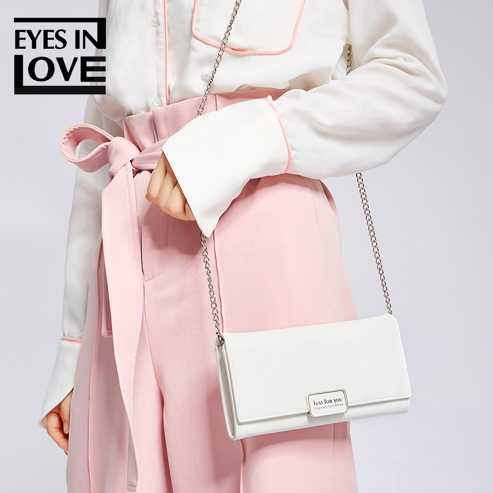 Eyes In Love Fashion Messenger Bag Womens Shoulder Bag Female Clutches Ladies Leather Handbags And Purses Small Crossbody Bags