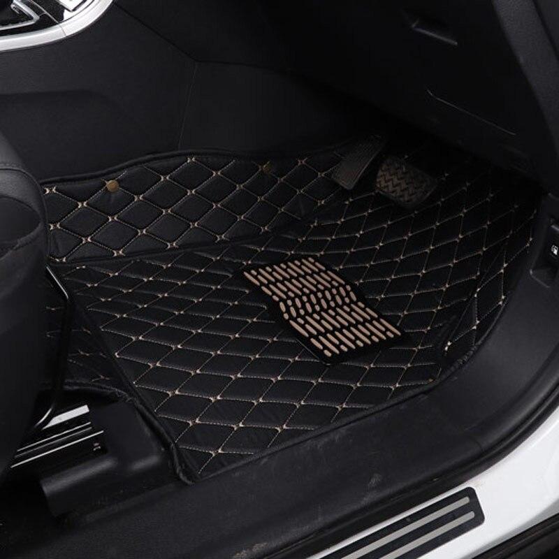 Автомобильный коврик для правой стороны вождения Toyota fj land cruiser prado lc200 Reiz MARK X Tundra VENZA Sienna Kluger 2018 2017 2016