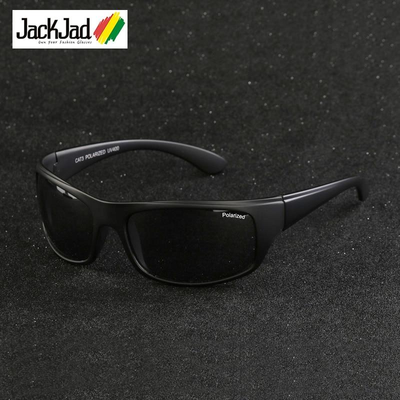 JackJad 2017 Fashion Outdoor Sports Polarized Sunglasses Goggles Men Driving Fishing Running Travel Sun Glasses Oculos De Sol