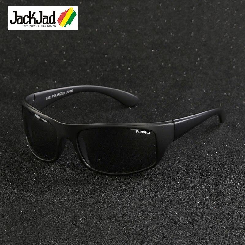JackJad 2017 Moda Ao Ar Livre Esportes Óculos Polarizados Óculos de Condução Homens Pesca Correndo Viagem Óculos de Sol Oculos de sol