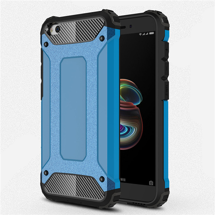 For Xiaomi Redmi Go Case Shockproof Armor Rubber Silicone Hard PC Case for Xiaomi RedmiGo Protective Back Cover Case(China)