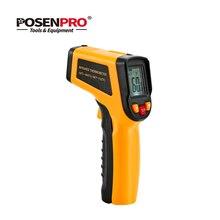 POSENPRO инфракрасное излучение термометр с жидкокристаллическим дисплеем Цифровой лазерный ручной термометрический индикатор пистолет C/F IR No-Contact 400 600