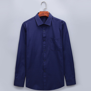 Image 2 - Plus Large Size 8XL 7XL 6XL 5XL Mens Business Casual Long Sleeved Shirt Classic White Black Dark Blue Male Social Dress Shirts