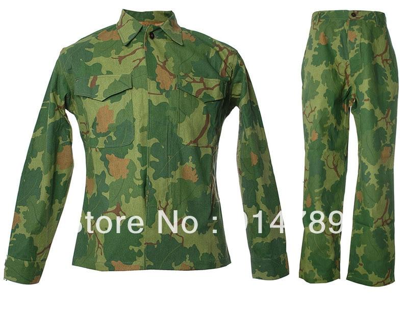 VIETNAM WAR US MITCHELL CAMO UNIFORM P53 FIELD JACKET AND PANTS TROUSER IN SIZES -33599