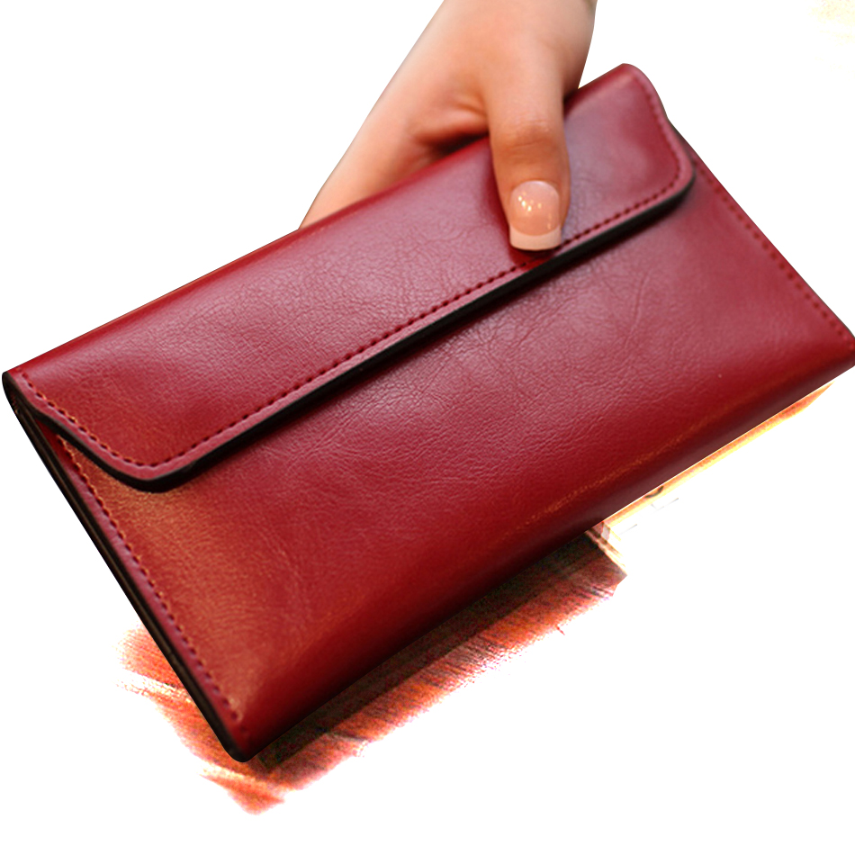 SUNNY BEACH famous brand 2019 Genuine Leather women wallet purse bag designer wallets long money wallet