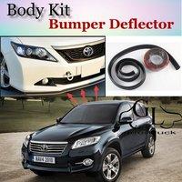 For TOYOTA RAV4 RAV 4 RAV 4 Vanguard Bumper Lip / Front Spoiler Deflector For Car View Tuning / TOPGEAR Body Kit / Strip Skirt