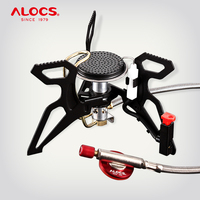 ALOCS CS G22 Compact Foldable 3000W Camping Mini Pocket Cooking Gas Stove Propane Burner for Outdoor Backpacking Hiking Camping